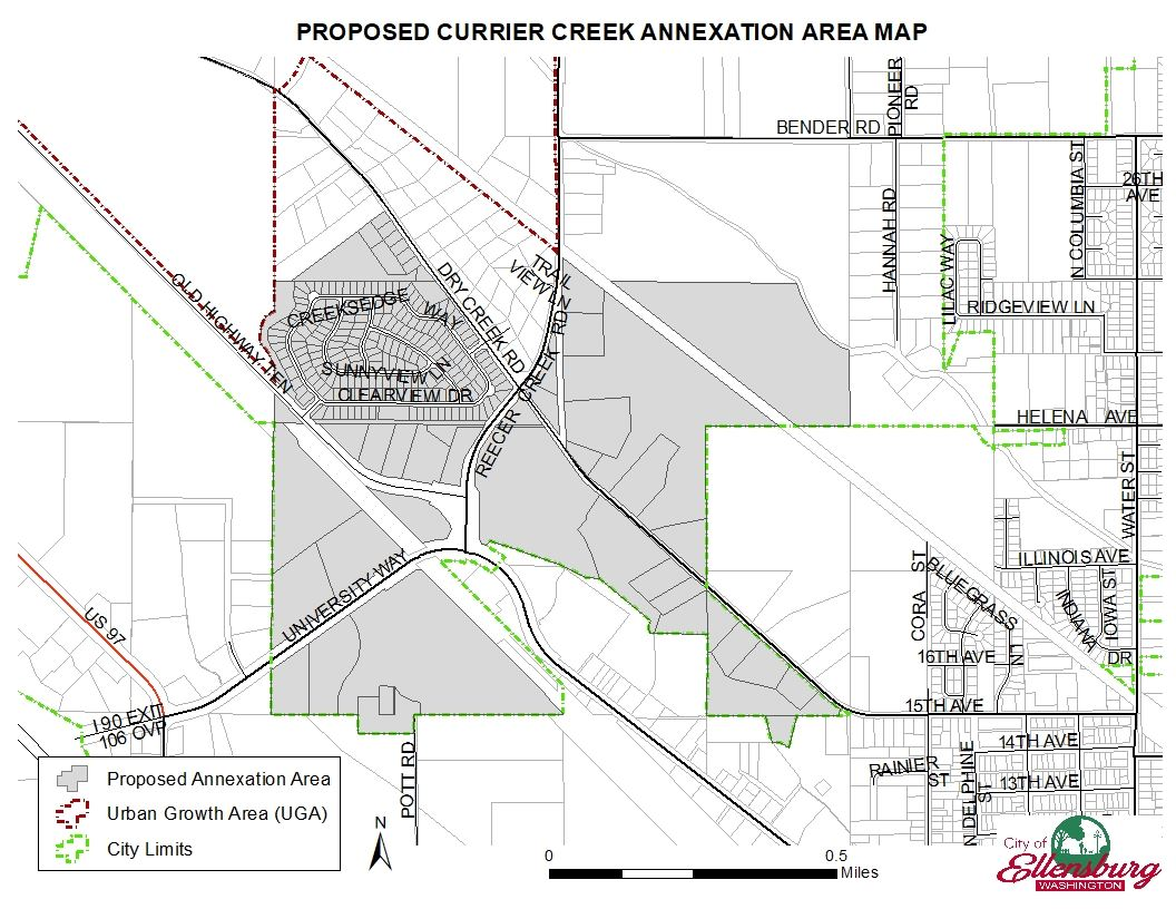 2019 CC Annexation Area Map